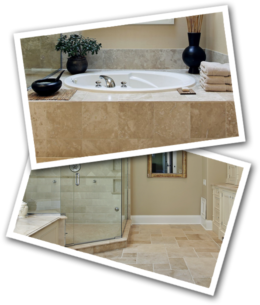 bathroom remodeling stacked images